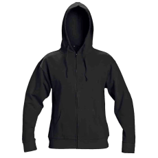 Cerva NAGAR csuklyás pulóver fekete XL