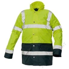 Cerva SEFTON kabát HV sárga/navy