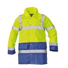 Cerva SEFTON kabát HV sárga/royal L