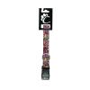 Chaba állítható nyakörv, szín: graffity mintás 20mm/54cm