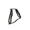 Chaba kerek szabályozható hám, szín: fekete-sárga 25mm/85cm
