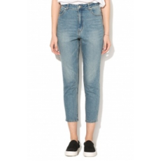 Cheap Monday , Donna magas derekú slim fit farmernadrág, Világoskék, W27-L30 (0446150-PENNY-BLUE-W27-L30)