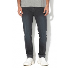 Cheap Monday , Sonic slim fit farmernadrág, Sötétszürke, W34-L34 (0570036-BLUE-W34-L34)
