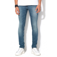 Cheap Monday , Unisex skinny farmernadrág, Kék, W29-L32 (0389637-BLUE-W29-L32)