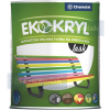 Chemolak Ekokryl Univerzális Fényes Akrilfesték v2062 (Fehér) - 0,6 L.