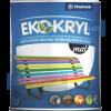 Chemolak Ekokryl Univerzális Matt Akrilfesték v2045 (Fekete) - 0,6 L.