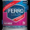 Chemolak Ferro Color 2:1 Oldószeres, Selyemfényű Zománcfesték (Ezüst) - 0,75 L.