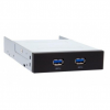 Chieftec MUB-3002 2xUSB 3.0 port USB Hub