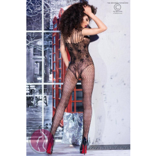 Chilirose CR 4233 S/M Black Bodystocking body