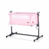 Chipolino Close To Me szülői ágyhoz csatlakoztatható kiságy - Pink Stars 2020
