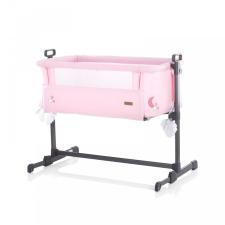 Chipolino Close To Me szülői ágyhoz csatlakoztatható kiságy - Pink Stars 2020 kiságy, babaágy
