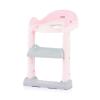 Chipolino Tippy lépcsős wc szűkítő - Pink 2019