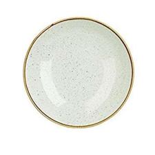 Churchill STONECAST BARLEY WHITE kerámia mély tányér 24,8cm 1db, SWHSEVB91 tányér és evőeszköz