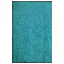 Ciánkék kimosható lábtörlő 120 x 180 cm lakástextília