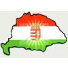 Címeres hűtőmágnes Nagy-Magyarország körvonallal 14x8,5 cm