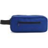 Cipzáras tolltartó, 600D poliészter, kék