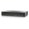 Cisco SG110-16HP 16-Port Gigabit PoE Switch (SG110-16HP-EU)