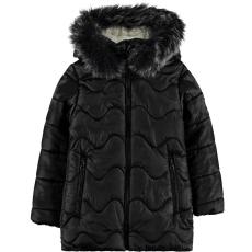 Civil Hullámos fekete kabát