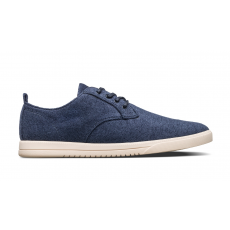 Clae ELLINGTON TEXTILE NAVY RECYCLED TERRY