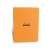 Clairefontaine Rhodia Classic narancs füzet  48lap  kockás 14 8x21cm