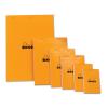 Clairefontaine Rhodia narancs jegyzetblokk  80lap  vonalas+margó 21x31 8cm