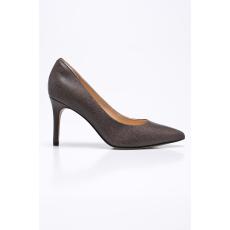 Clarks - Tűsarkú cipő - sötét barna