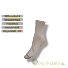 Classic pamut zokni - drapp 41-42