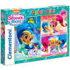 Clementoni Clementoni: Shimmer és Shine 3 az 1-ben puzzle