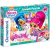 Clementoni Clementoni: Shimmer és Shine ékköves 104 darabos puzzle