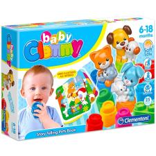 Clementoni Clemmy Baby: mókás állatok interaktív babajáték
