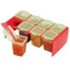 Clevamama Tároló pohárkák, 50 ml, mélyhűtőbe és mikróba tehető, 8 db-os, ClevaPortions, Clevamama