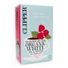 Clipper bio fehértea málnával 26db