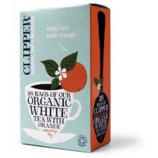 Clipper bio fehértea naranccsal 26db tea