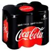 Coca-Cola Zero colaízű energiamentes szénsavas üdítőital édesítőszerekkel 6 x 330 ml