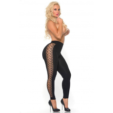Cocolicious SIDE PIECE SEAMLESS LEGGING BLACK OS
