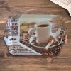 Coffe tálca, 39,5x29 cm