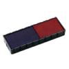 """COLOP Bélyegző cserepárna, 2 db/bliszter, kétszínű változat, COLOP """"E12/2"""", kék-piros (IC1113822)"""