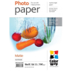 ColorWay Prémium Fotópapír Matt, 190 g/m, 10x15, 50 lap - PM1900504R