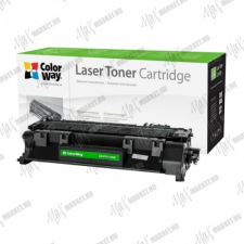 ColorWay Standard Toner CW-H505/280M, 2700 oldal, Fekete - HP CE505A (05A)/CF280A (80A); Can. 719 nyomtatópatron & toner