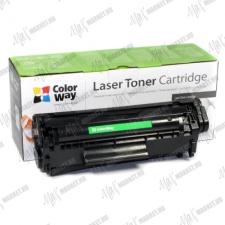 ColorWay Standard Toner CW-HQ2612/FX10M, 2000 oldal, Fekete - HP Q2612A (12A); Can. 703/FX9/FX10 nyomtatópatron & toner
