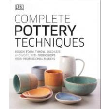 Complete Pottery Techniques – DK idegen nyelvű könyv