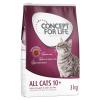Concept for Life 12x85g Concept for Life All Cats 10+ szószban- száraztáphoz kiegészítés