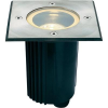 Conrad Járófelületbe építhető lámpa, négyszögletes, GU10, halogén fényforrás, alumínium, SLV Dasar 115 Adjust
