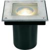 Conrad Járüfelületbe építhető lámpa, négyszögletes, GU10, halogén fényforrás, alumínium,  SLV Dasar Square