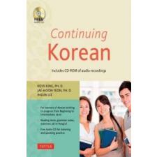 Continuing Korean – Ross King idegen nyelvű könyv