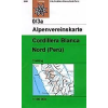 Cordillera Blanca, Nord (Perú) turistatérkép - Alpenvereinskarte 0/3a