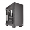 Corsair Black 400C Carbide Clear Windowed PC Gaming Case, ATX Micro ATX Mini ITX