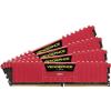 Corsair DDR4 16GB 2133MHz Corsair Vengeance LPX Red CL13 KIT4 (CMK16GX4M4A2133C13R)