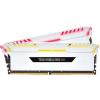 Corsair DDR4 16GB 3600MHz Corsair Vengeance RGB White CL18 KIT2 (CMR16GX4M2C3600C18W)