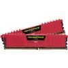 Corsair DDR4 8GB 3000MHz Corsair Vengeance LPX Red CL15 KIT2 (CMK8GX4M2B3000C15R)